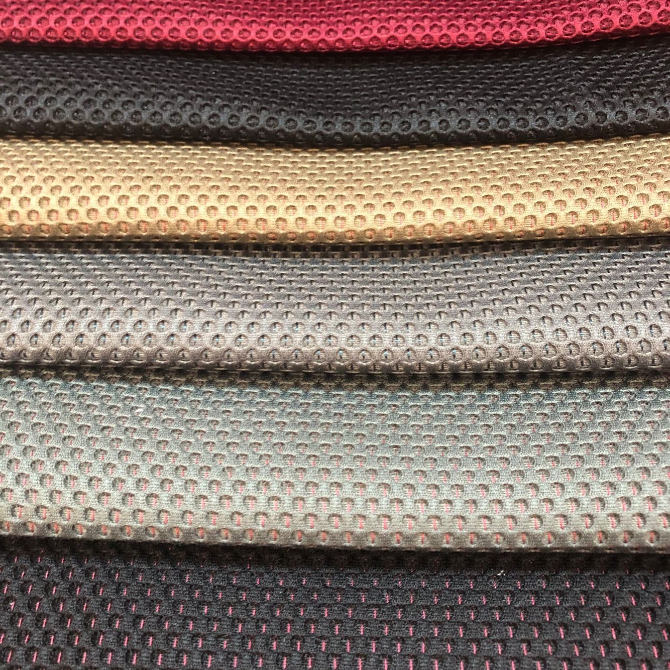 100% Polyester Warp Mesh Fabric for Bus Upholster Fabric