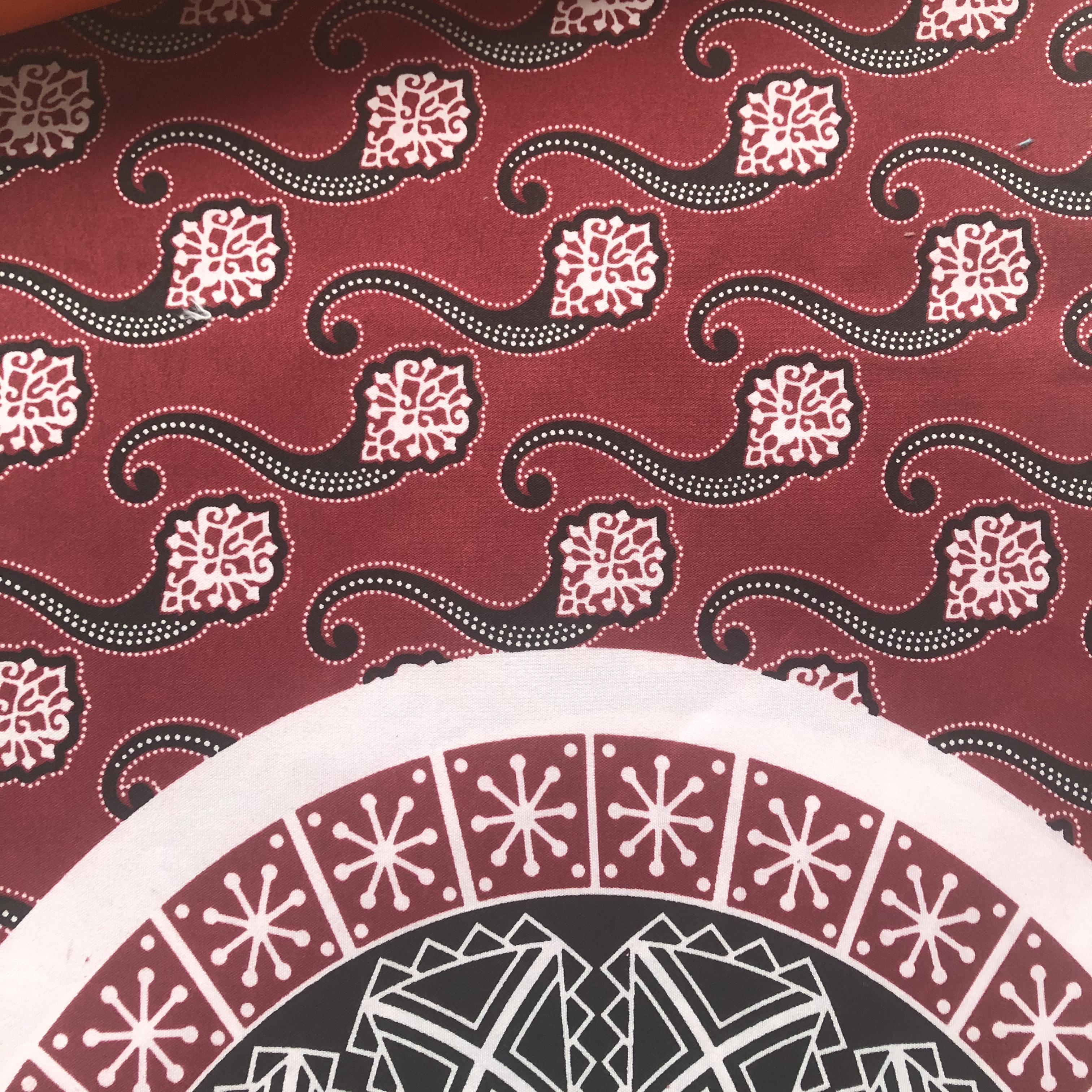 100%polyester Africa Market Single Printed Wax Fabric