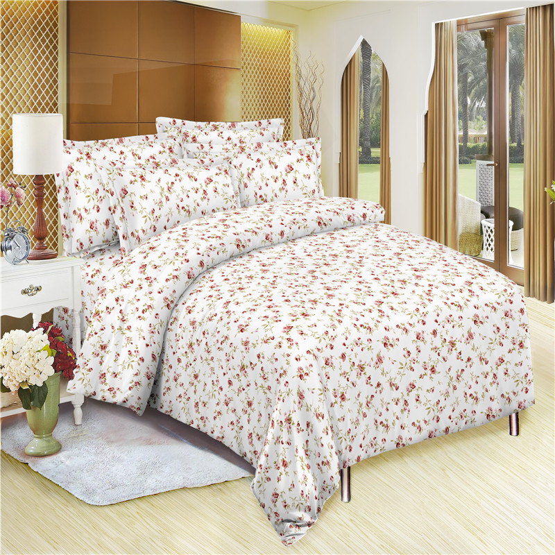 100% Cheap Price Polyester Brush Fabric Bedding Quilt Cover
